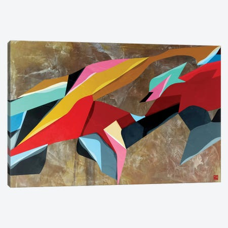Formations Canvas Print #DAS4} by DAAS Canvas Wall Art