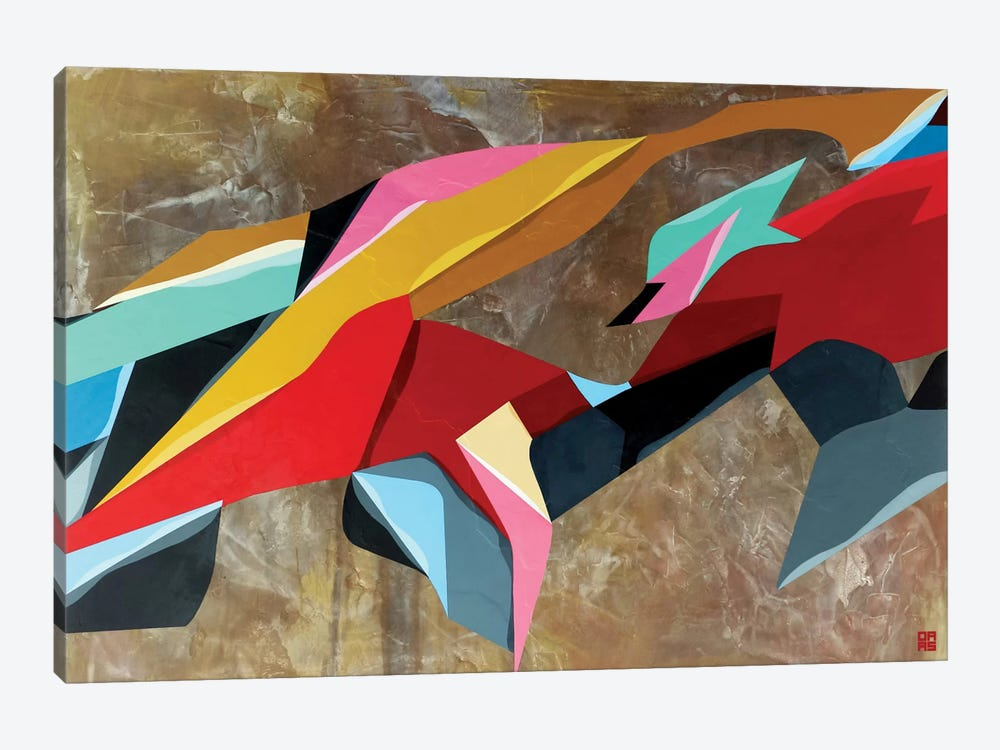 Formations by DAAS 1-piece Canvas Print