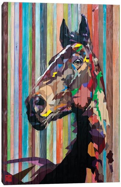 Geo Horse Canvas Art Print
