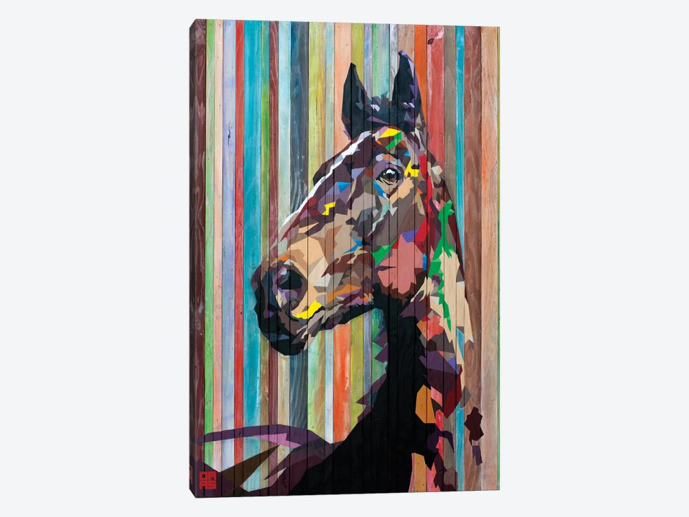 Geo Horse by DAAS 1-piece Canvas Art Print