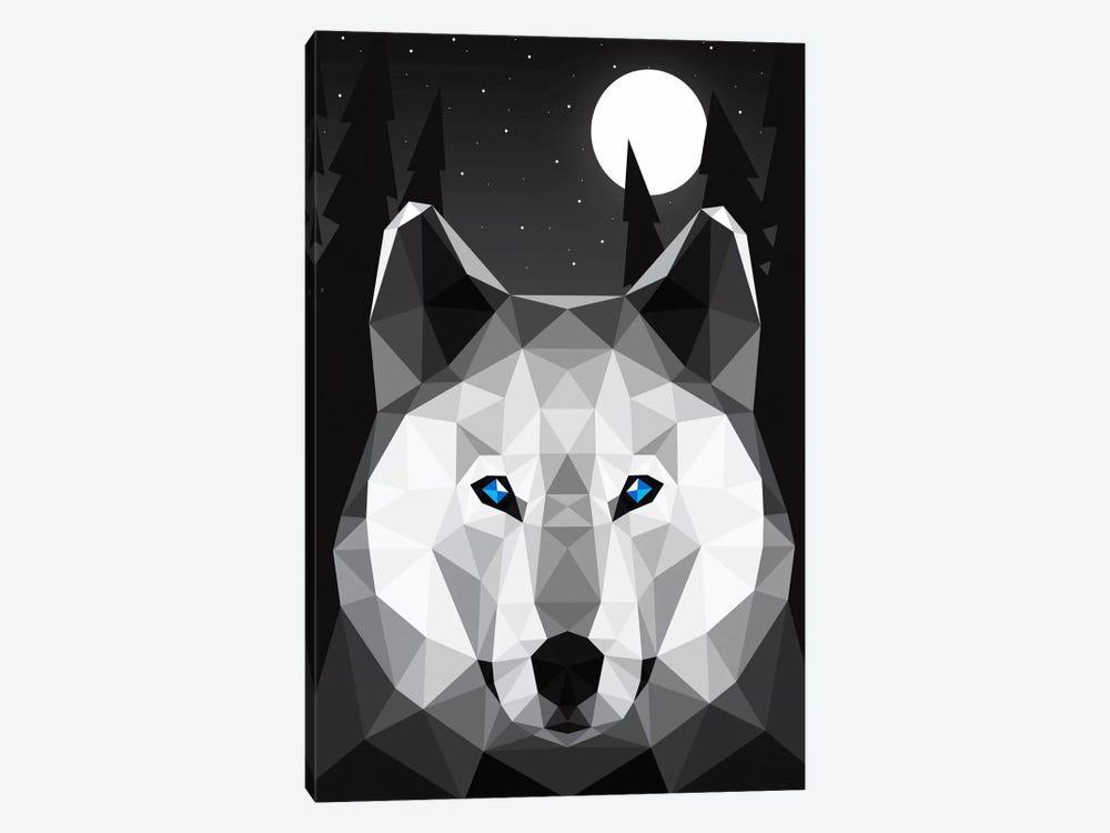 Tundra Wolf by Davies Babies 1-piece Canvas Artwork