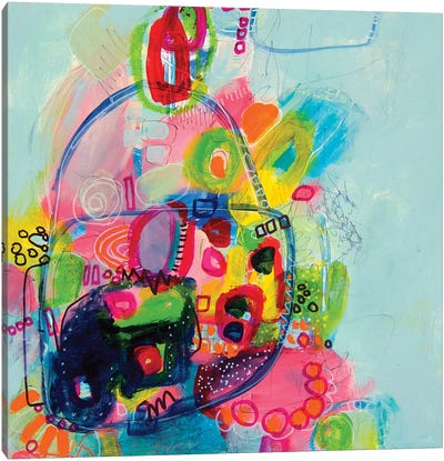 Pinky Swear  Canvas Art Print