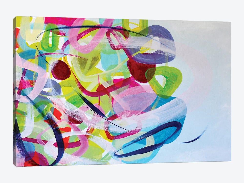 Smile From The Inside  by Darlene Watson 1-piece Canvas Wall Art
