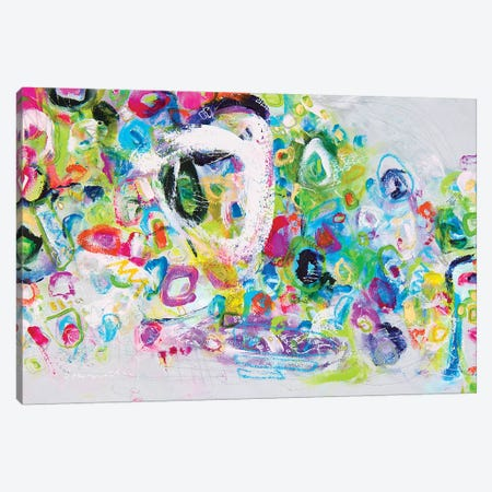 Art Deserves A Great Title Canvas Print #DAW44} by Darlene Watson Canvas Wall Art