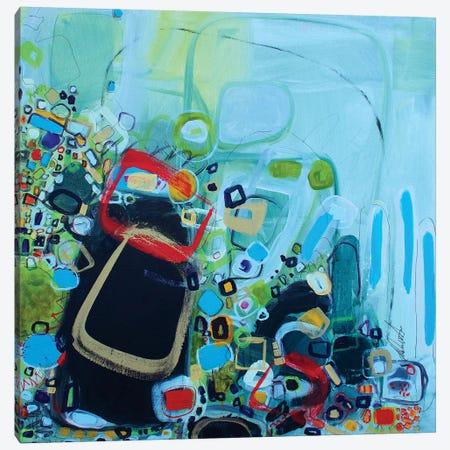 Ask Me 3-Piece Canvas #DAW45} by Darlene Watson Canvas Wall Art