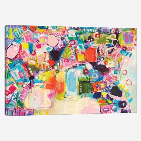 Asleep Under The Apple Blossom Canvas Print #DAW46} by Darlene Watson Canvas Art