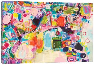 Asleep Under The Apple Blossom Canvas Art Print