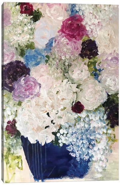 Blue Pottery Canvas Art Print