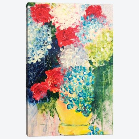 Henri Left His Vase At My House Canvas Print #DAW51} by Darlene Watson Canvas Artwork