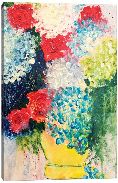 Henri Left His Vase At My House Canvas Art Print
