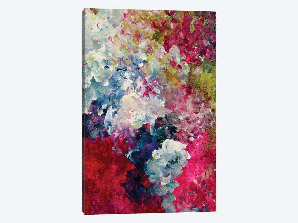 Magenta Gardens by Darlene Watson 1-piece Canvas Art Print