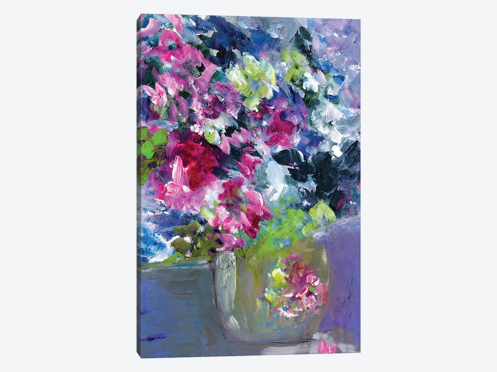 What A Tiny Floral Vase by Darlene Watson 1-piece Art Print