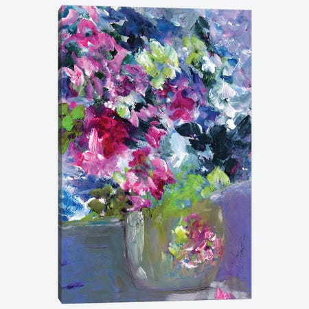 What A Tiny Floral Vase Canvas Print #DAW77} by Darlene Watson Canvas Print