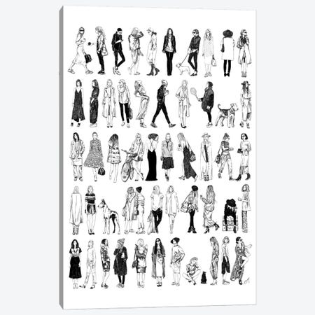 Different Styles Canvas Print #DAY15} by Amber Day Art Print