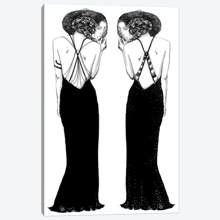 Double Take Canvas Print #DAY17} by Amber Day Canvas Print