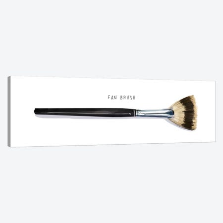 Fan Brush Canvas Print #DAY18} by Amber Day Canvas Art