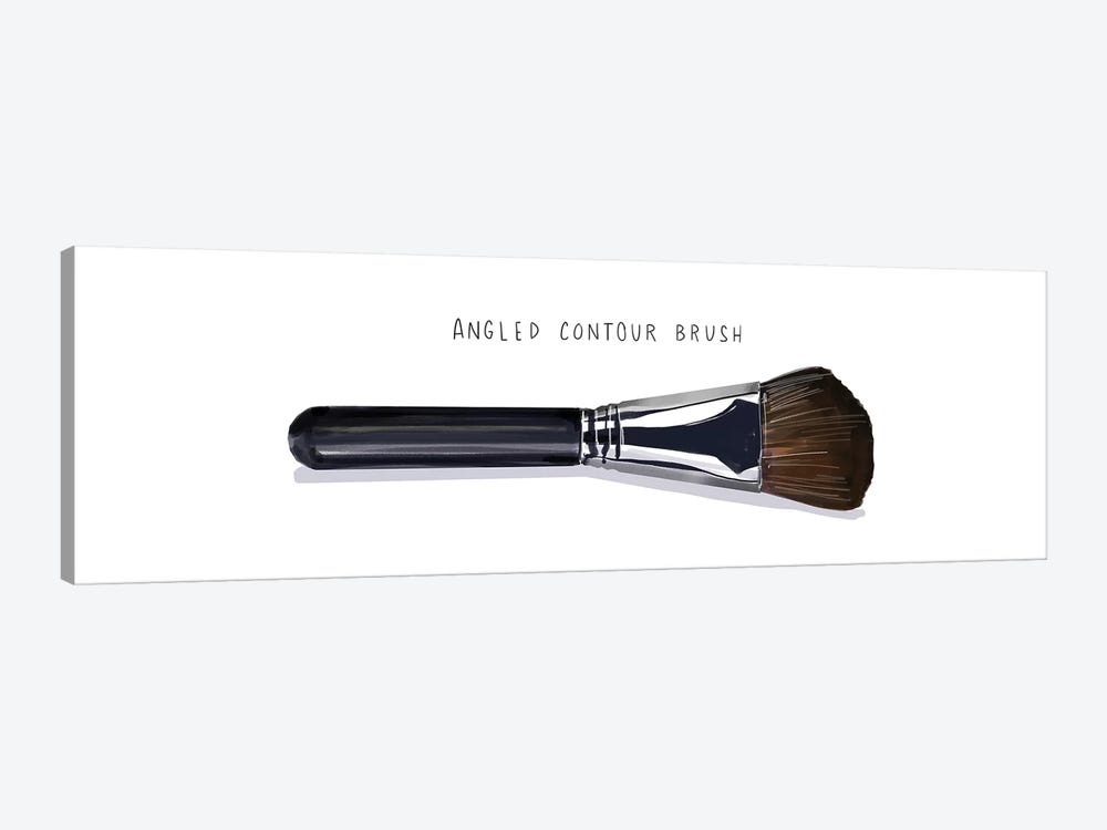Angled Contour Brush by Amber Day 1-piece Canvas Artwork