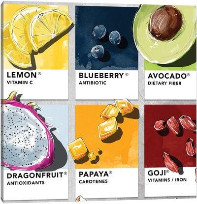Fruit VI Canvas Art Print