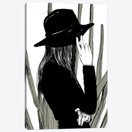 Hidden Canvas Print #DAY29} by Amber Day Canvas Print