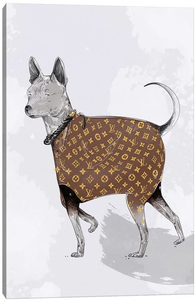 LV Canvas Art Print