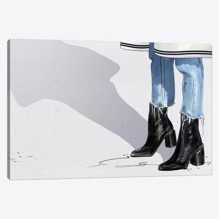 N Shoes 3-Piece Canvas #DAY34} by Amber Day Art Print