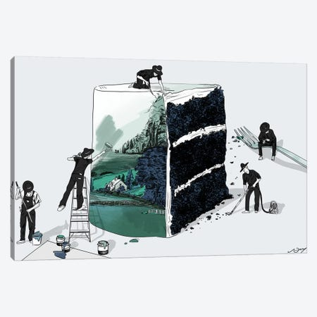 Prop Stylists Canvas Print #DAY39} by Amber Day Canvas Artwork