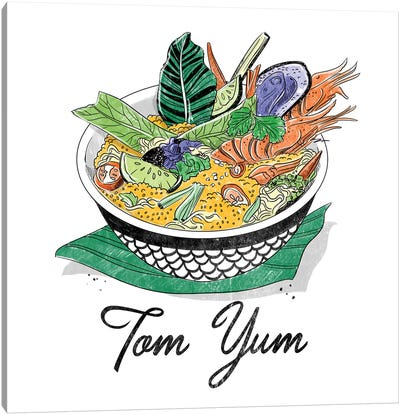 Tom Yum Canvas Art Print