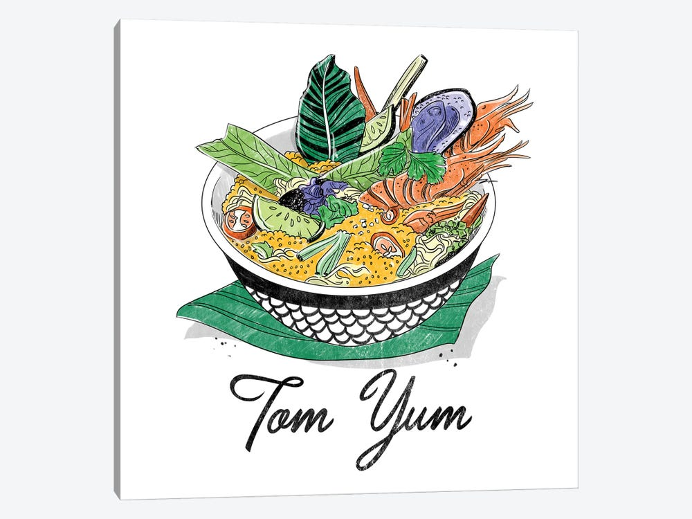 Tom Yum by Amber Day 1-piece Canvas Print