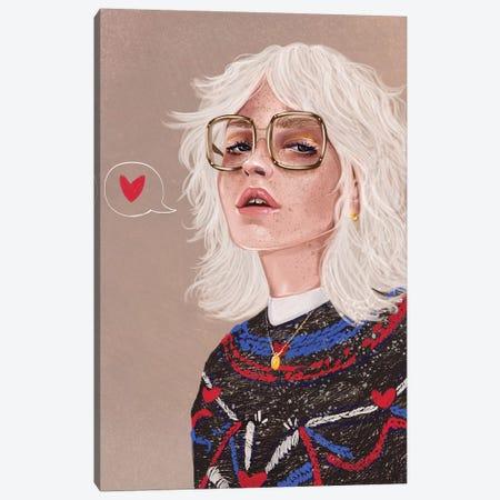Elsa Canvas Print #DAY60} by Amber Day Art Print