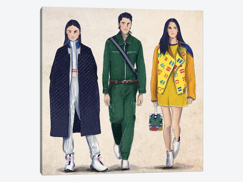Fashion Week by Amber Day 1-piece Canvas Art Print