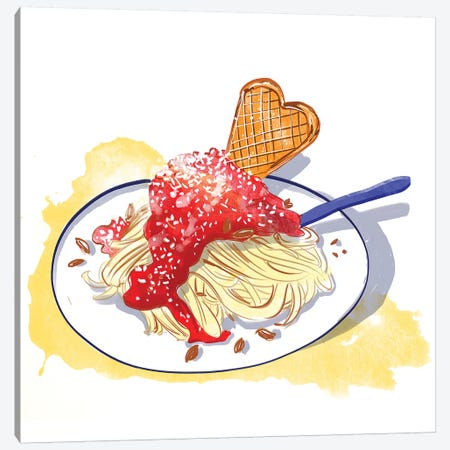 German Ice Cream Canvas Print #DAY64} by Amber Day Canvas Wall Art