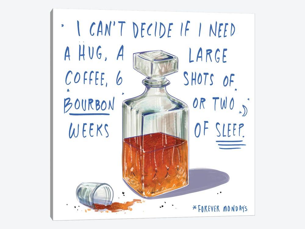 Mondays by Amber Day 1-piece Art Print