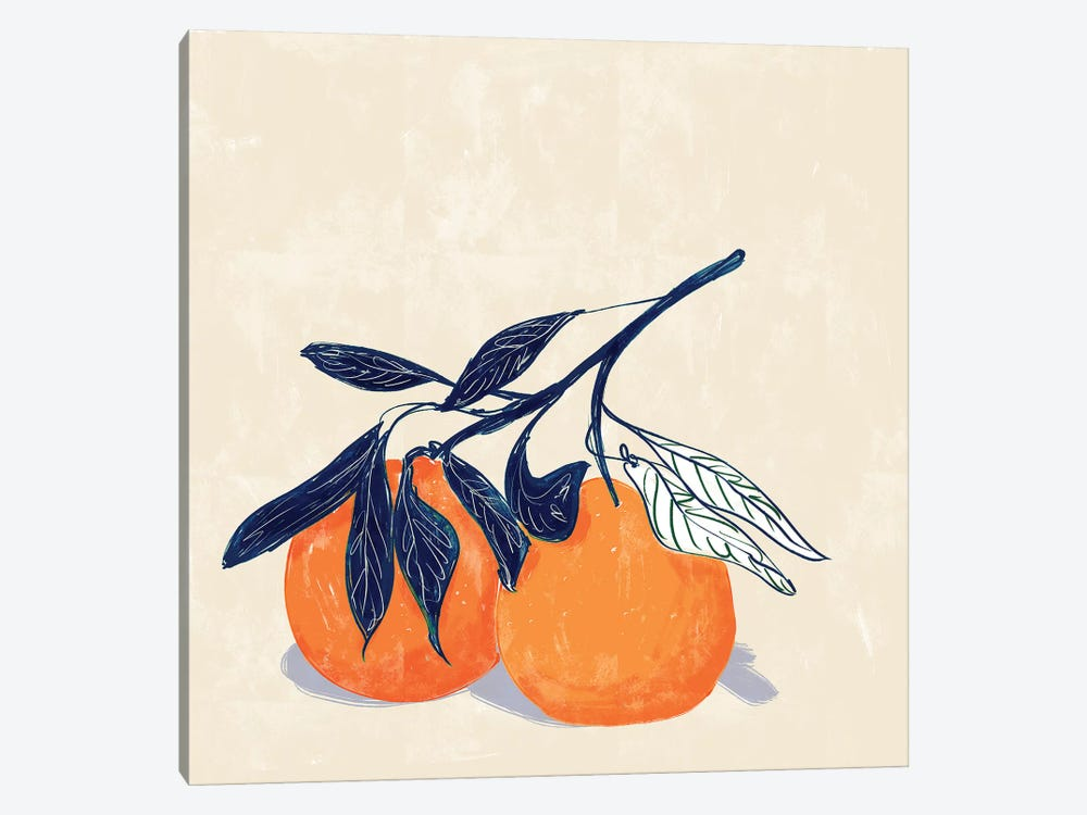 Oranges by Amber Day 1-piece Canvas Wall Art
