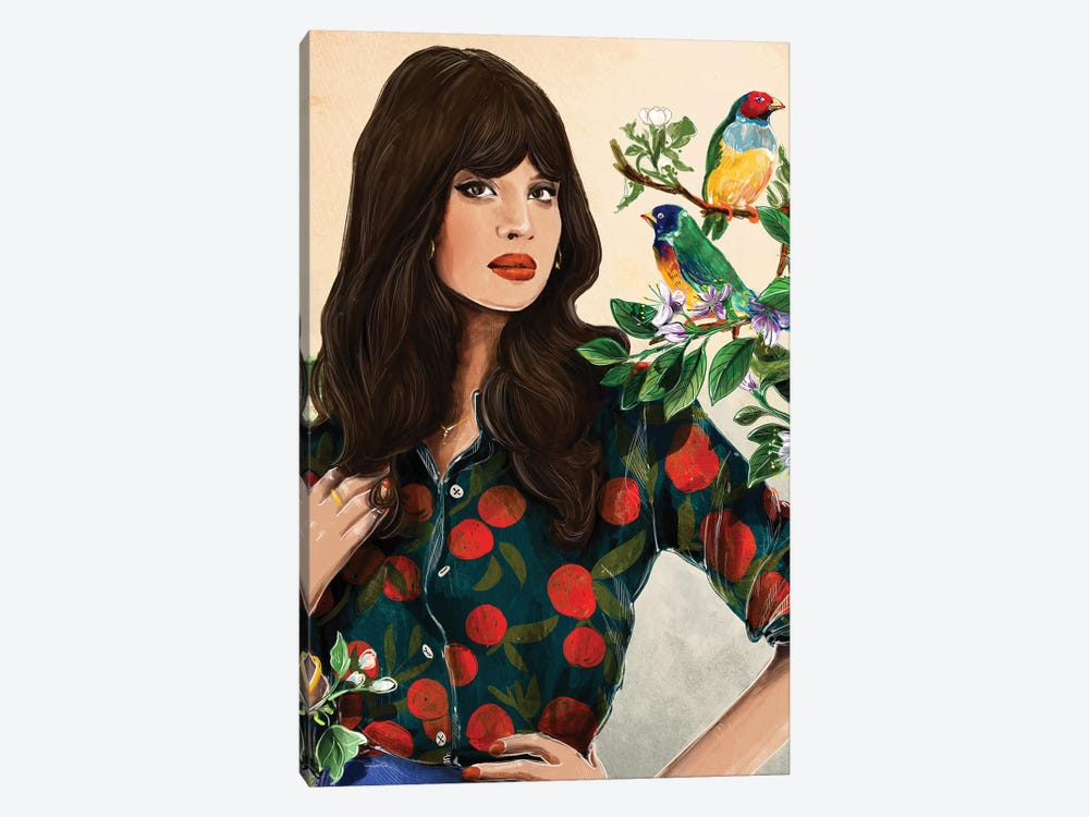 Rare Birds by Amber Day 1-piece Canvas Art
