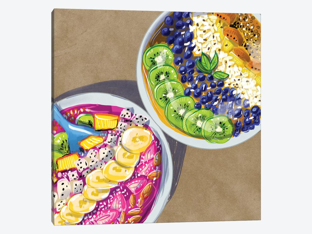 Smoothie Bowls by Amber Day 1-piece Art Print