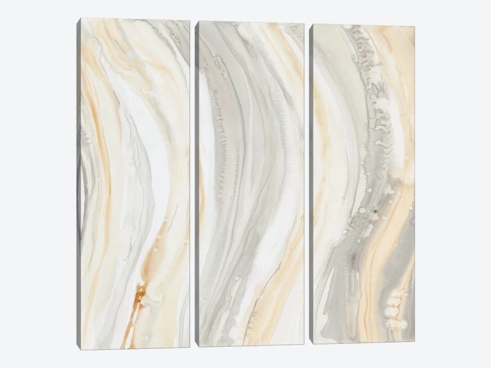 Alabaster I by Debbie Banks 3-piece Canvas Wall Art