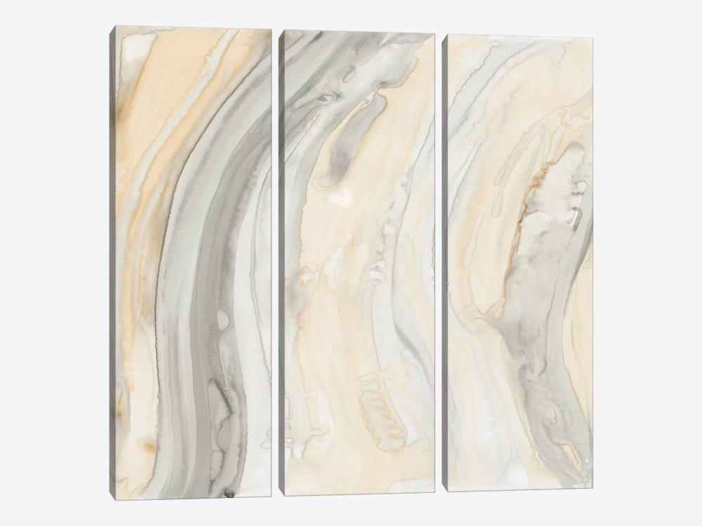 Alabaster II by Debbie Banks 3-piece Canvas Art Print