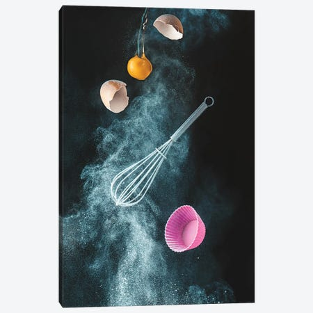 Kitchen Mess 3-Piece Canvas #DBE1} by Dina Belenko Canvas Print