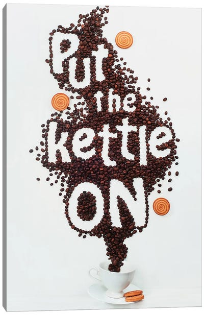Put The Kettle On! Canvas Art Print