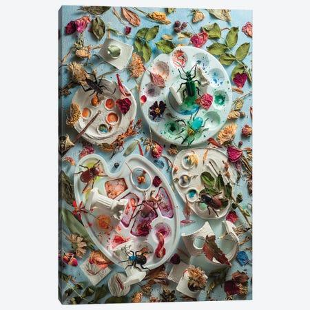 Summer Palette Canvas Print #DBE9} by Dina Belenko Canvas Print