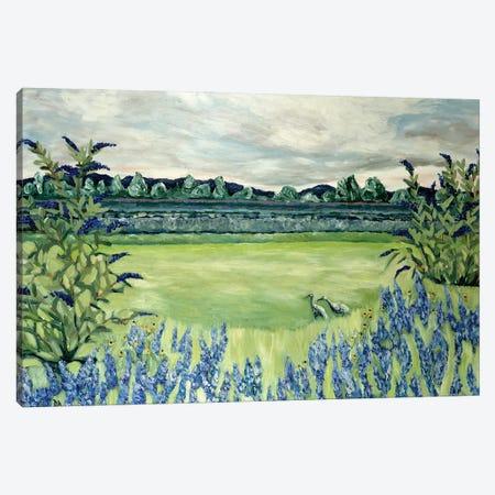 Lavender Fields Canvas Print #DBH100} by Deborah Eve Alastra Canvas Print