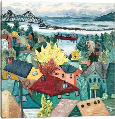 Astoria View Canvas Art Print