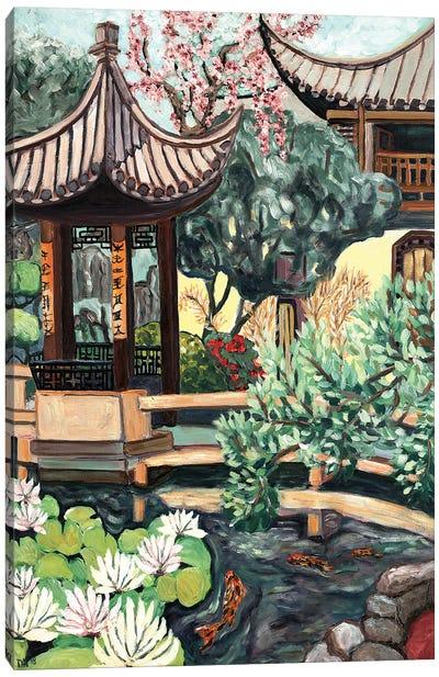 Lansu Garden Canvas Art Print
