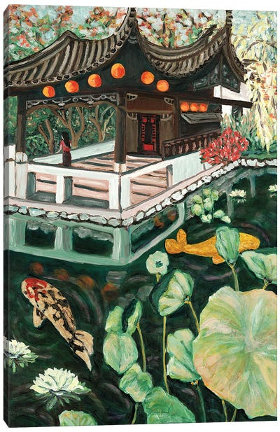 Lansu Fall Canvas Art Print
