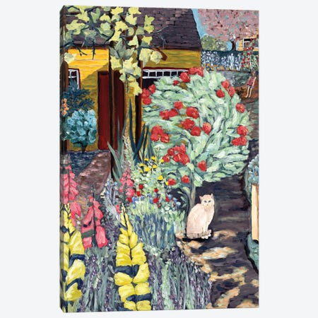 Neighbor's Garden Canvas Print #DBH16} by Deborah Eve Alastra Canvas Art