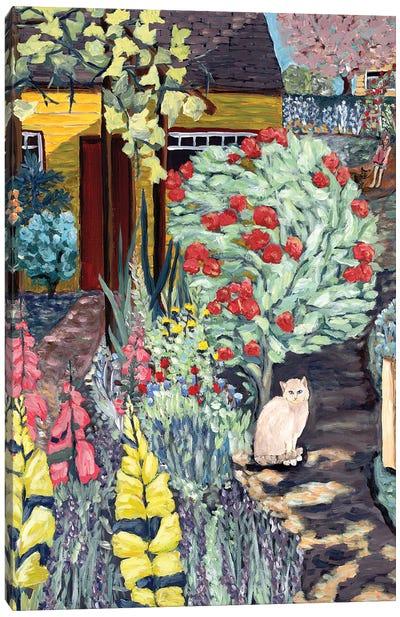 Neighbor's Garden Canvas Art Print