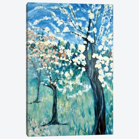 Apple Blossoms Canvas Print #DBH18} by Deborah Eve Alastra Art Print
