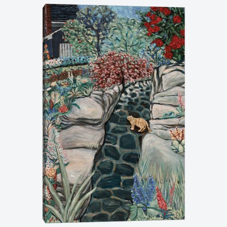 Cobbled Way Canvas Print #DBH1} by Deborah Eve Alastra Canvas Artwork