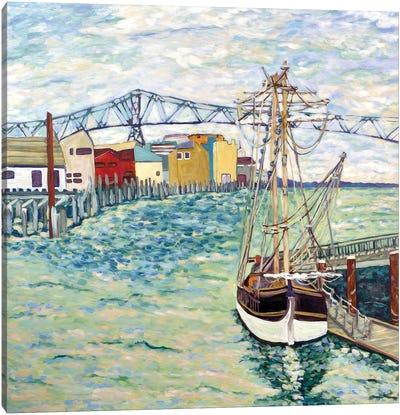 Astoria Boat Canvas Art Print