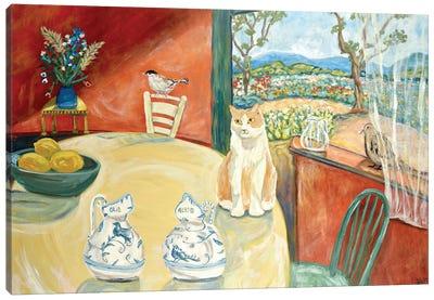 Beastie's Window Canvas Art Print